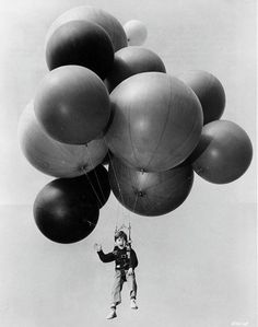 Before hot air balloons existed...