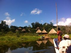 Embera Indian Village... More than ready for this adventure!
