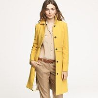 Double-cloth lady day coat with thinsulate by J Crew