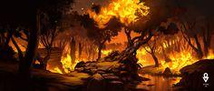 Resultado de imagen para fire scene