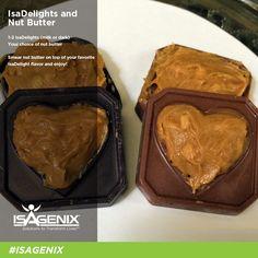 Isagenix IsaDelights and Nut Butter  Shahnaz.isagenix.com