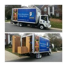 Did you know Goodwill offers free home pick-ups? That's right - three or more and we're at your door!