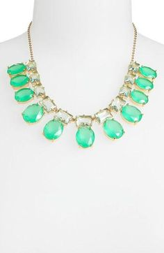 So pretty...Kate Spade 'Hancock' statement necklace
