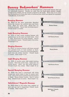 Bonney Tools : Catalog C-1
