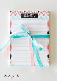 Custom / Personalized Notepads