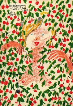"Werner Klemke ""Das Magazin"" 1962 Creative Skills, Botanical Art, Book Illustration, Fall 2016, Quilts, History, Imagination, Nude, Inspiration"