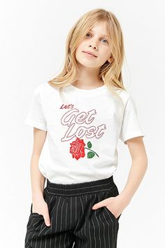 Girls Let's Get Lost Graphic Tee (Kids) | Forever 21