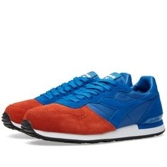 Diadora Camaro Double (Blue Reflex & Brown Purple)
