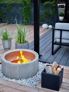 Precious Tips for Outdoor Gardens - Modern Backyard Garden Design, Garden Pool, Backyard Patio, Back Gardens, Outdoor Gardens, Outdoor Landscaping, Outdoor Decor, Outdoor Lounge, Dream Garden