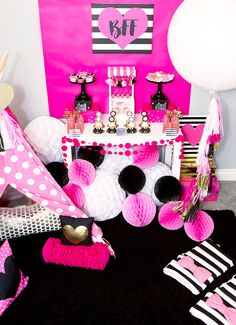 American Girl Doll Birthday Party - Kate Spade Inspired Party with Shutterfly