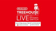 """Nintendo Switch Game Stream Announced for January 13 Nintendo will hold a Treehouse Live stream on Friday January 13 to showcase some of the games featured in next week's Nintendo Switch Presentation. In a post on Twitter Nintendo of America announced the stream will begin at 9:30am ET / 6:30am PT during which Nintendo Treehouse will provide """"an in-depth look at upcoming games"""" coming to Switch. Nintendo Switch Treehouse Live announcement viaTwitter Continue reading…"""