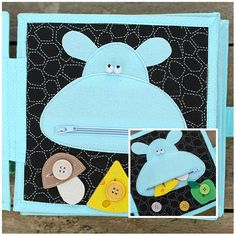 Сustom calme livre 4-12 pages jouet dEveil tout-petits par TomToy