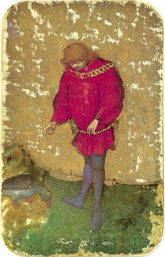 11 -- Stuttgart playing cards, ca. 1430
