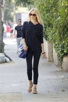 Claudia Schiffer Photo - Claudia Schiffer in Notting Hill