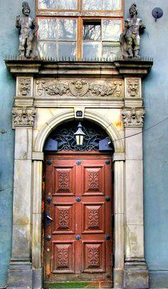 Gdańsk - Doors by Arrnau, via Flickr