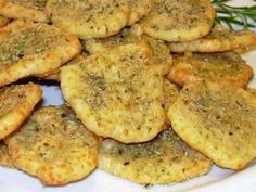 Parmesan-Rosmarin-Cracker - die machen süchtig.
