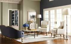 paint | Sherwin Williams | Naval