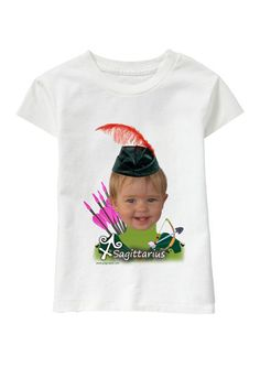 Sagittario Girl personalized T-shirt www.ghigostyle.com