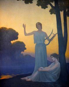 Alphonse Osbert - Chant du soir, 1906