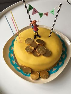 Boy Birthday, Birthday Cake, Birthday Parties, Pippi Longstocking, Host Gifts, Fika, Party Time, Cake Decorating, Birthdays