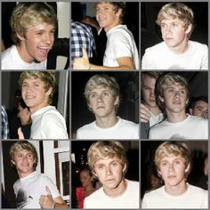 Niall James at Josh's party.