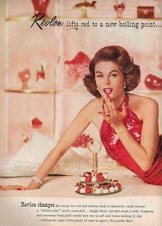 Vogue 1960 October Vogue for possible future project.October Vogue for possible future project. Vintage Makeup Ads, Vintage Nails, Retro Makeup, Vintage Glamour, Vintage Beauty, Vintage Fashion, 1950s Makeup, Vintage Soul, Retro Fashion