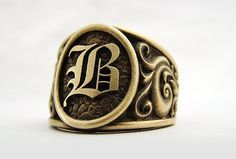 Gents by AlternativeJewel - cool mens jewelry, discount mens jewelry, mens gold jewelry cheap Men's Jewelry Rings, Metal Jewelry, Estilo Cool, Gents Ring, Men Accesories, Biker Rings, Signet Ring, Fashion Rings, Rings For Men