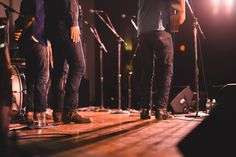 The Lone Bellow's awesome shoe game, backstage at Watkins Family Hour | The Bluegrass Situation
