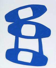 Cassie Jones | Works on Paper - Duralar IV / #blue #white