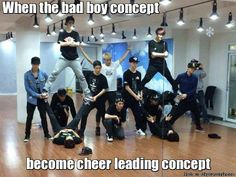 Yup! Overdose took kpop to the cheerleading level!!! XD