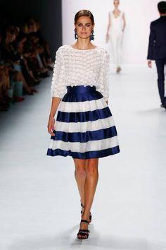 I just love this skirt by Guido Maria Kretschmer (Berlin Fashion Week Frühjahr/Sommer 2016)