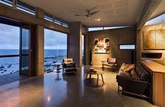 La belleza Residence Costa Sur, La casa es increíble. El cemento - Vidrio - combo madera es asesino y el resultado es un espacio mode...