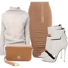 Untitled #369 by piinkdreamss on Polyvore featuring polyvore fashion style Rick Owens Boohoo Giuseppe Zanotti Tory Burch Forever New