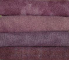"""HAND DYED RUG HOOKING WOOL Over-Dyed ~ """"{PLUM DANDY}"""" -- Available at: www.stores.ebay.com/woolnwares -- #WoolNWares #eBayWoolNWares #HandDyedWool"""