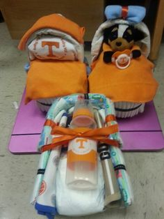 Tennessee Diaper basinets and a cradle. Baby Vol!