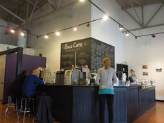 Grandview Grind, Columbus, OH   My go-to place for coffee.  Locally owned and operated, unlike the place up the street!