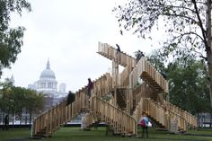 Stair Master: dRMM Creates Endless Stair for Tate Modern's Front Lawn