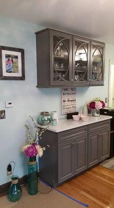Pebble Gray Kraftmaid Cabinets Google Search Small