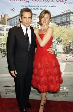 Pin for Later: Birthday Girl Jennifer Aniston's Got More Famous Friends Than We Can Count  She lit up the red carpet with Ben Stiller at the London premiere of Along Came Polly in February 2004.