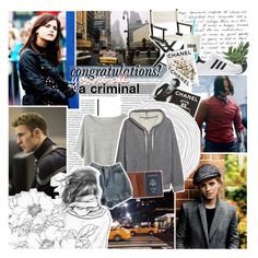 """&&; ""congratulations! you're all a criminal"""" by melindamays ❤ liked on Polyvore featuring Coleman, Emma Watson, Threshold, Pier 1 Imports, Kate Spade, Assouline Publishing, Acne Studios, H&M, TOMS and American Apparel"
