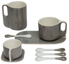Ti Coffee cup - With saucer - Sentou
