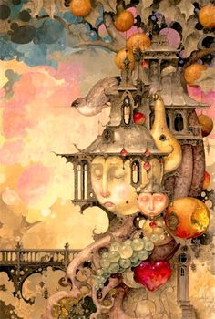 """""""And Another Thing"""" ~ Daniel Merriam ~ Watercolorist Extraordinaire ~ Click on the Pin to see the large view, then click on the large version to see a full-screen view on a black background (set your computer for """"Full-screen"""" mode). ~ Miks' Pics """"Daniel Merriam ll"""" board @ http://www.pinterest.com/msmgish/daniel-merriam-ll/"""