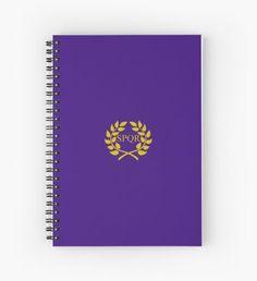 SPQR Roman Demigod Cuaderno de espiral