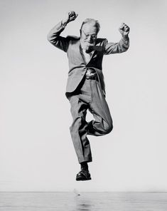 """When you ask a person to jump, his attention is mostly directed toward the act of jumping and the mask falls so that the real person appears"""" ~ Philippe Halsman"""