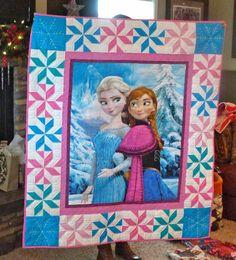 Alfa img - Showing > Frozen Quilt Panel