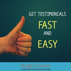 We all know that client testimonials outweigh our own claims to excellence, fame and greatness. That's a fact. Our clients attest whether or not our products and services are worth their every penny. The only problem is that it isn't that easy to gather feedback. Luckily, I have found a way to get your clients speak about you and your business fast and easy! Read my blog and I'll share with you a number of valuable tips! Original Photo: Creative Commons | Sarah Reid