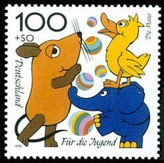 Stamp Die Sendung mit der Maus, 1998