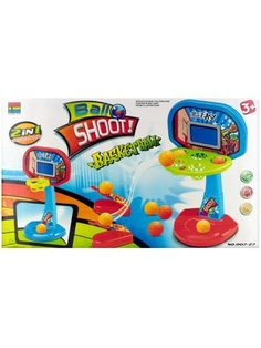 Two-in-One Tabletop Basketball Shooter Game (Available in a pack of 1)