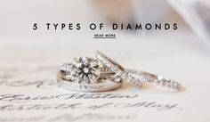 Types of Diamonds | Photography: Ira Lippke Studios. Read More:  http://www.insideweddings.com/news/jewelry/5-dazzling-diamond-cuts-you-may-not-know-about/2799/