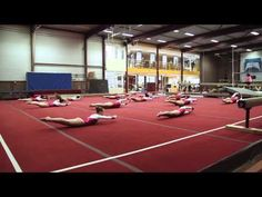 Changing your warm-ups for summer   Swing Big! Gymnastics Blog Choreographed Conditioning is my fave!